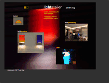 Tablet Preview of lichtatelier-hug.de